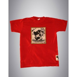 "T-shirt rouge homme - Icom ""Never Stop Learning"""