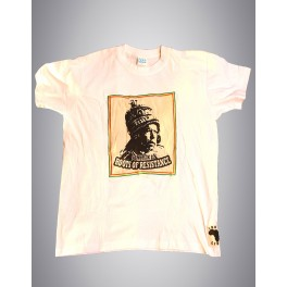 """T-shirt blanc homme - Icom """"Roots of Resistance"""""""